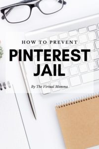 How to prevent Pinterest jail by the irish twins momma