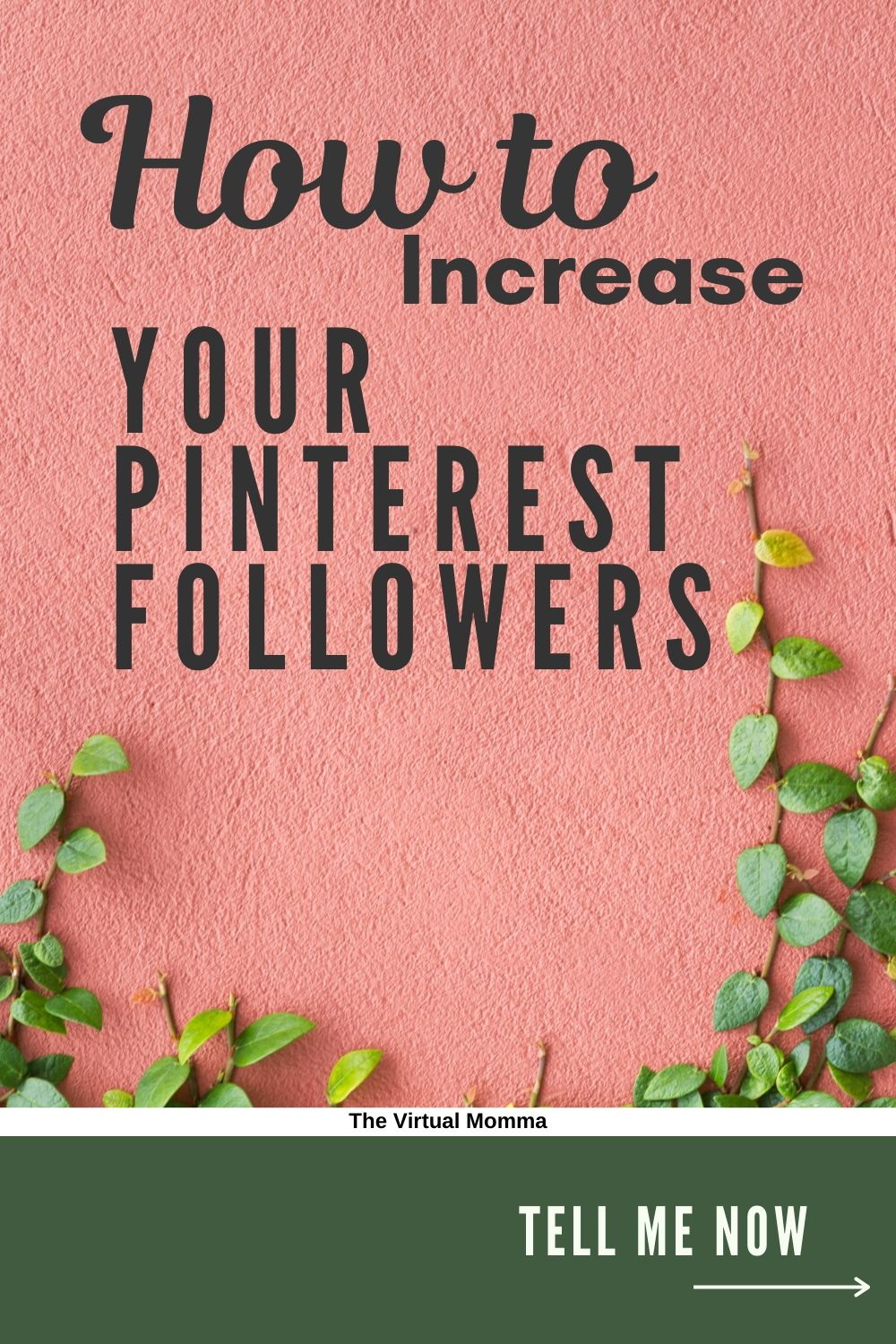 How to increase your pinterest followers